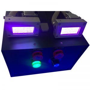UV平板喷码打印LED紫外线固化机固化灯设备uvled标签印固化机供