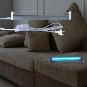 美规EMCUV臭氧无臭氧120V支架灯T5紫外线灭菌灯管0.9米1.2米