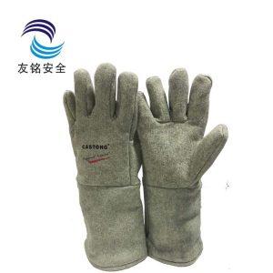 现货卡司顿GKKK15-40耐高温300工业加长隔热烧烤微波炉烤箱手套