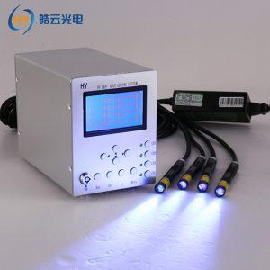 UV无影胶固化机LED灯点光源照射机365nm紫外线光快速秒固化四通道
