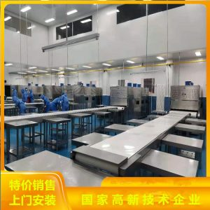 哈尔滨微波加热设备感应式学生盒饭微波加热隧道炉整机不锈钢