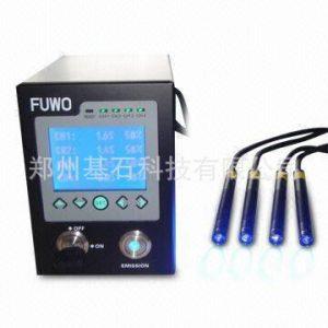 河南厂家供应环保节能4照射头UVled点光源脉冲紫外线光源 UV光源