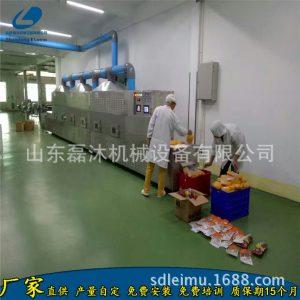 自动流程可食用吸管微波烘干设备20HM面制吸管干燥灭菌隧道炉