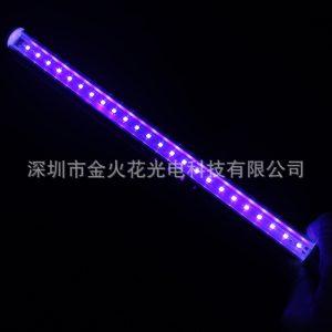 LED紫光灯30cm杀菌消毒灯管T5一体UV灯管6W诱虫诱蚊紫光灯可对接