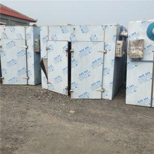 现货二手热风循环烘箱4门8车电加热烘箱箱式烘干机价格