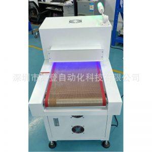 隧道式UV固化机紫外线UV固化烘干炉LED光源隧道炉烘干线厂家定制