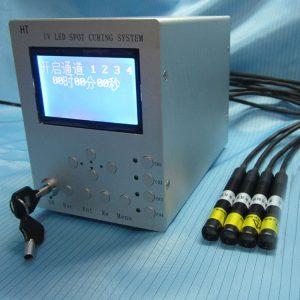 UVLED冷光源固化机紫外线点光源固化机1主机4照射头UV胶固化