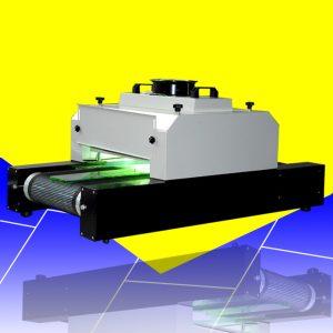 小型桌面uv隧道炉烘干机紫外线300mm宽单灯两用传送台式uv固化机