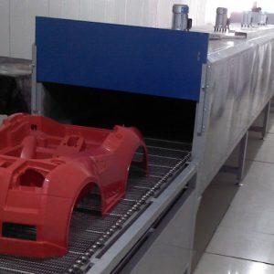 厂家直供童车UV光固化喷漆线自动喷漆生产线uv漆固化机定制